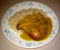 Chicken Curry & Mango
