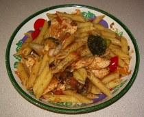 Penne Primavera with Chicken